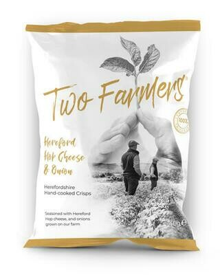 NEW! Two Farmers Crisps - Hereford Hop Cheese & Onion