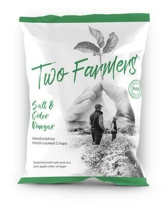 NEW! Two Farmers Crisps - Salt & Cider Vinegar