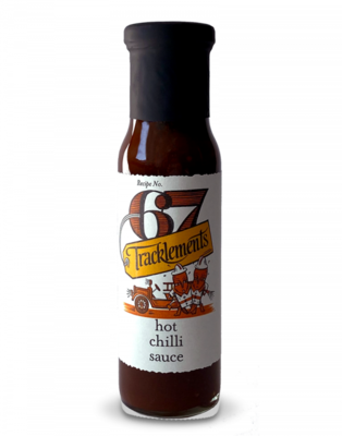Tracklements Hot Chilli Sauce