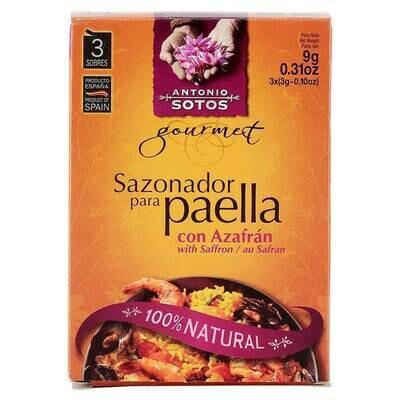 Sotos Natural Paella Seasoning (3x3g)