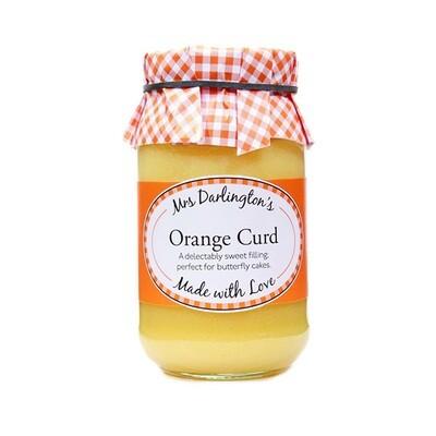 NEW! Mrs Darlingtons Curd - Orange