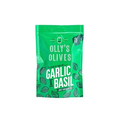 NEW! Olly's Olives- Garlic & Basil