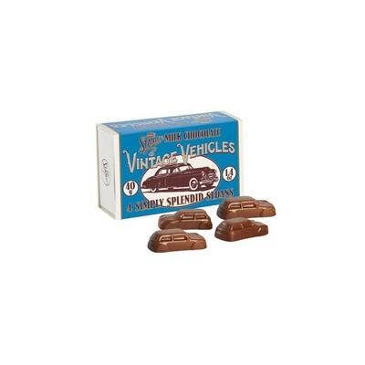 Mr Stanleys Milk Chocolate Motorcars
