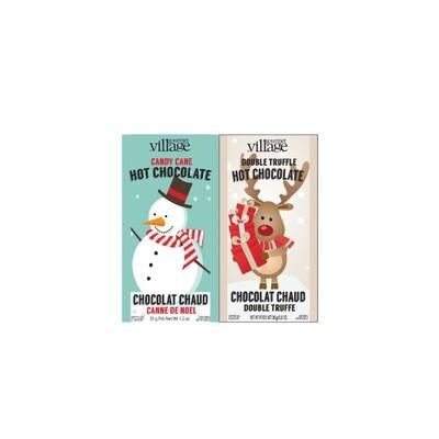 Gourmet du Village Snowman and Reindeer Classic Hot Chocolate