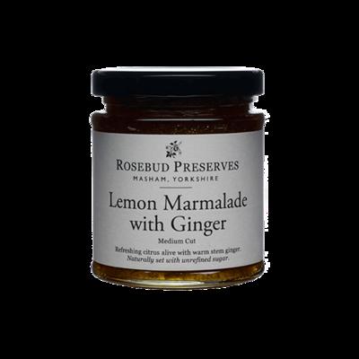 Rosebud Lemon Marmalade with Ginger