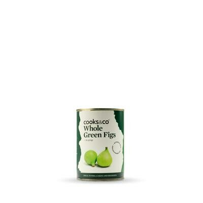 New In! Cooks & Co whole green figs in syrup