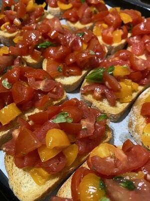 Tomato Bruschetta Canapes (M2O)