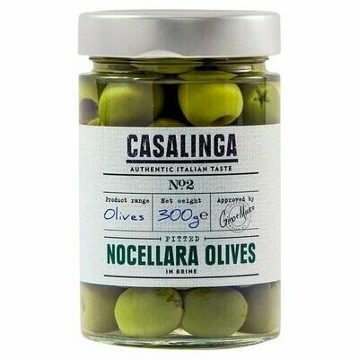 NEW IN! Casalinga - Pitted Nocellara Olives (300g)