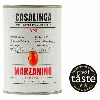 NEW IN! Casalinga - Marzanino Tomatoes (400g)