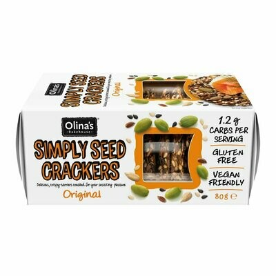 NEW IN! Olina's Bakehouse GF Simply Seed Crackers