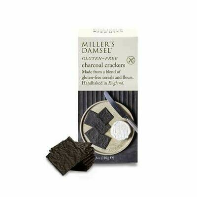 NEW IN! Millers Charcoal Damsels Wafers Gluten Free