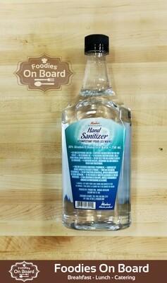 80% Alcohol Hand Sanitizer /  80%酒精(免洗)消毒洗手液 (750ml)