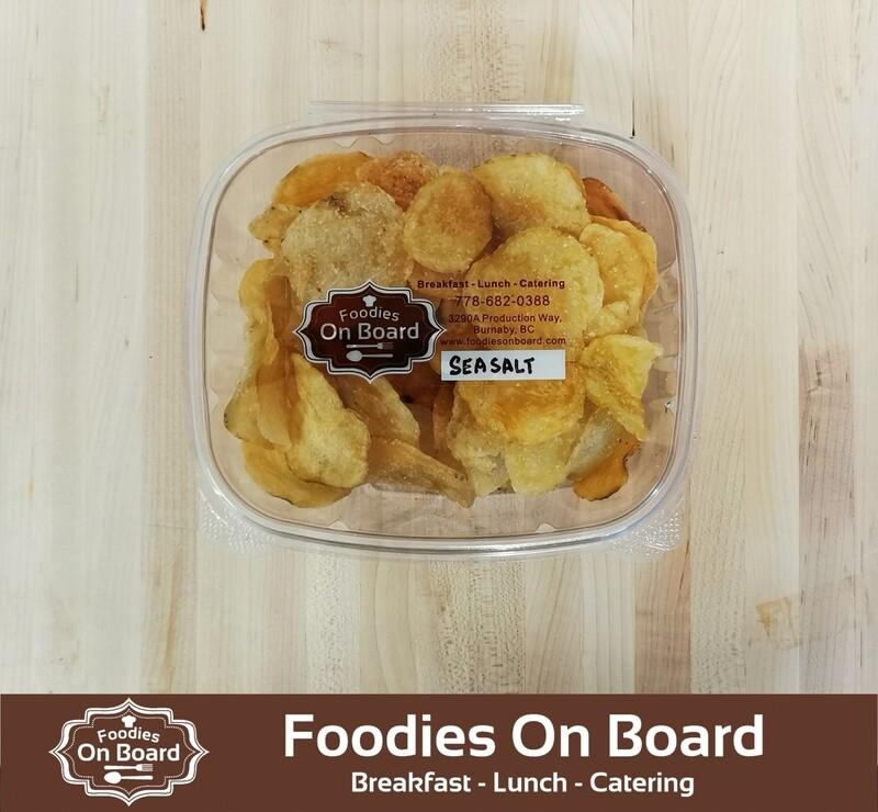 Foodies House Made Organic Potato chips/ 私房现炸有机薯片