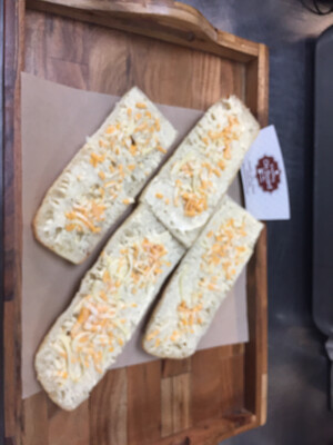 Garlic Cheesy Bread 蒜香芝士面包