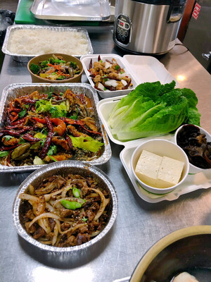 Family Meal Deal For Four Option#4-Taste Of Sichuan. ( 四人特价套餐#4: 中式川味套餐)