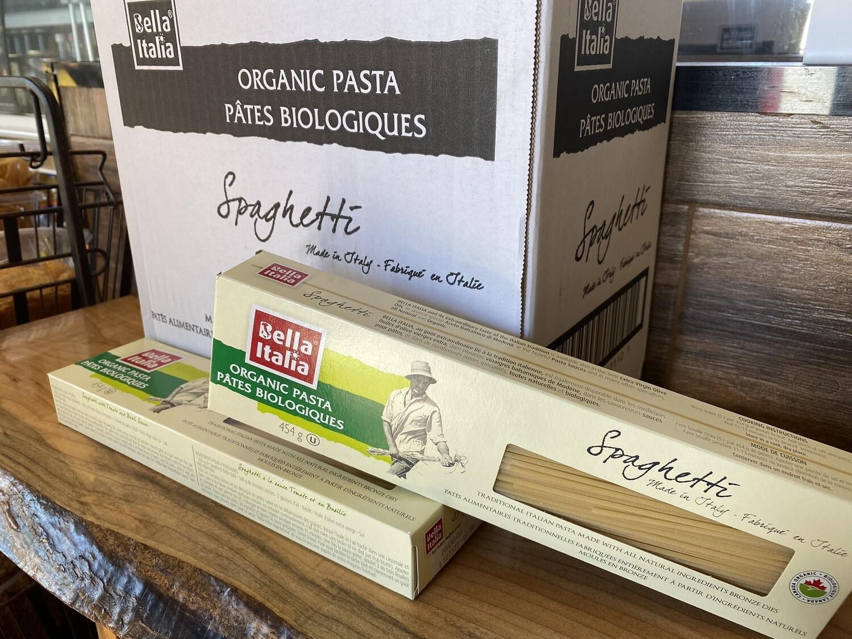 Bella Italia Organic Pasta Spaghetti / 有机意大利面 (454g)