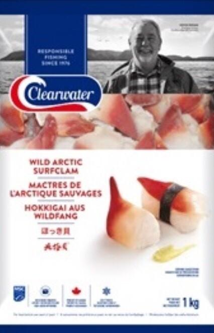 clear water large size arctic surf clams(1kg/2.2 lb)野生北极贝(大号)1kg