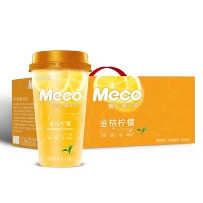 香飘飘Meco果汁茶5杯$8(金桔柠檬)