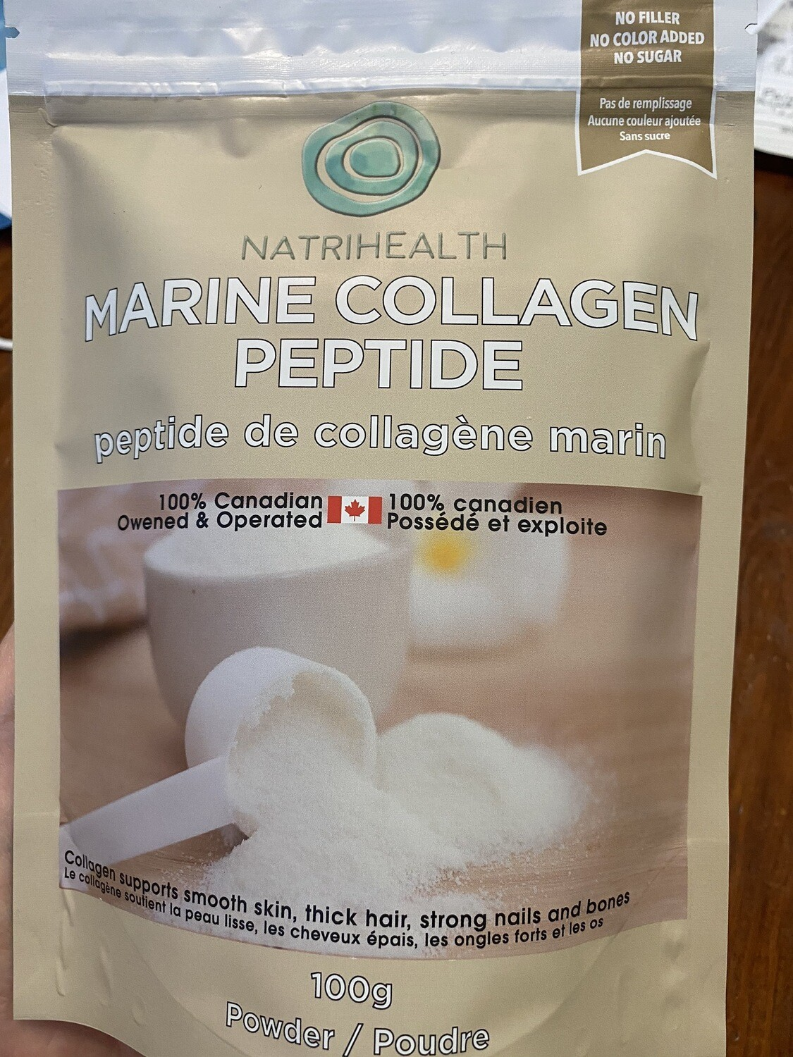 Marine Collagen Peptide / 鱼胶原蛋白粉肽 100g