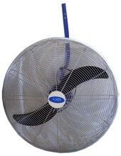 Pedestal And Wall Mount Oscillating Fans