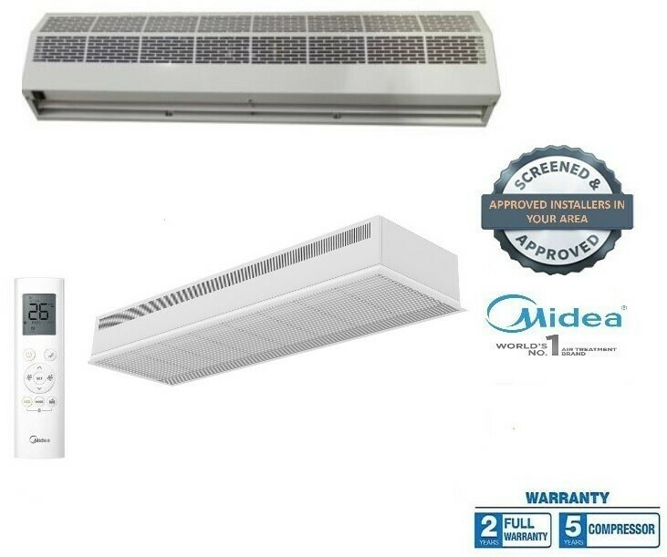 Air Curtains From