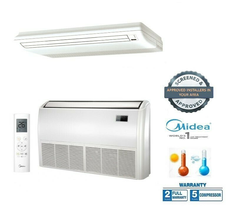 Under Ceiling Or Floor Standing - Fixed Speed And Inverter From
