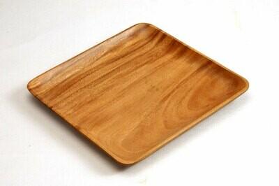Plateau bois carré - 30 cm