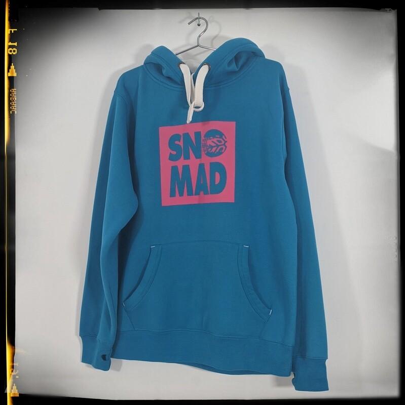 SNO.MAD Block Hoodie - Malibu Blue