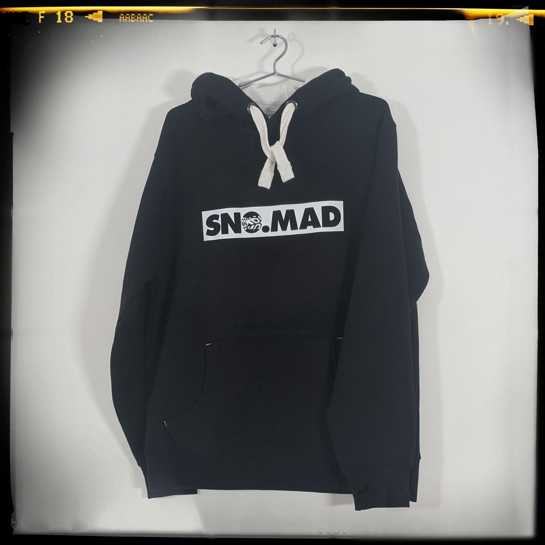 SNO.MAD Band Hoodie - Black