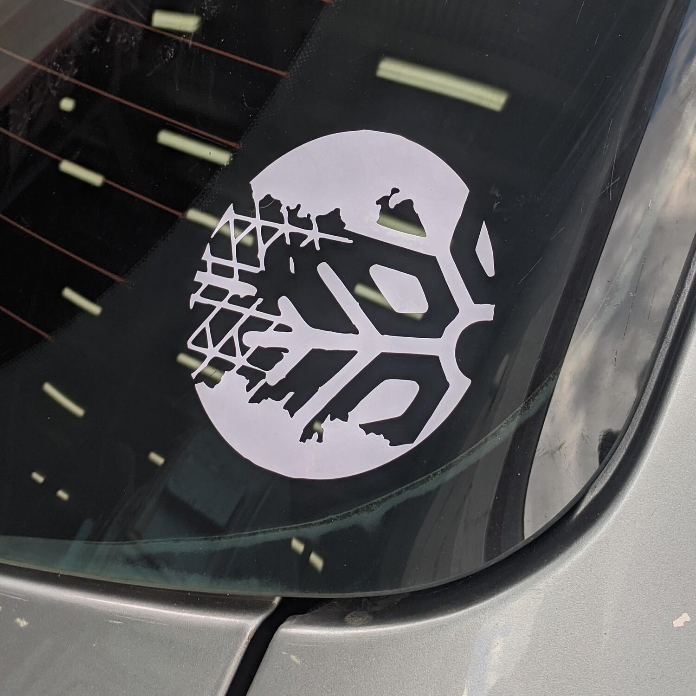 Winterised Window Sticker