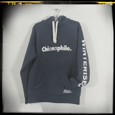 Winterised Chionophile Hoodie - Denim Blue