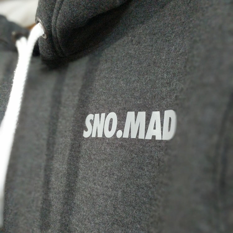 SNO.MAD GREY HOODIE