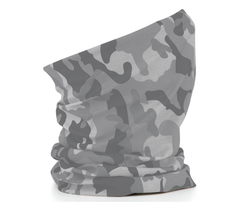 Winterised Camo Neck Warmers