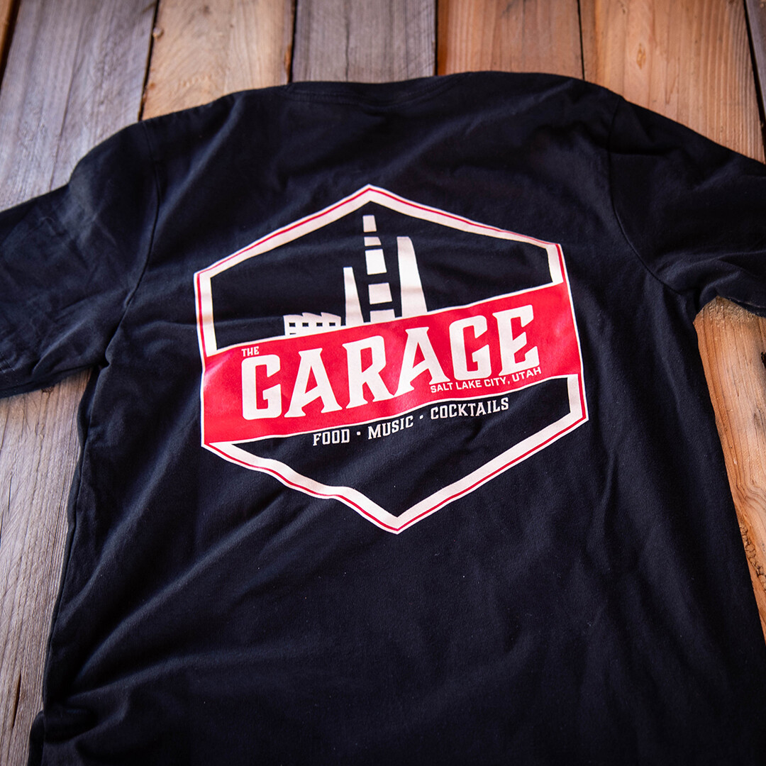 Garage on Beck T-Shirt Black