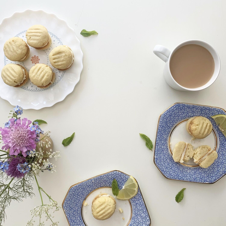 Lemon Melting Moments Biscuit Baking Kit