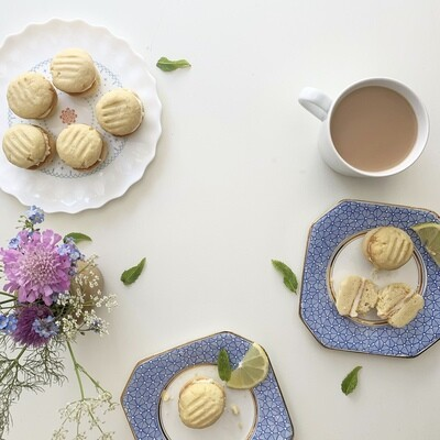 Lemon Melting Moments Biscuit Baking Kit