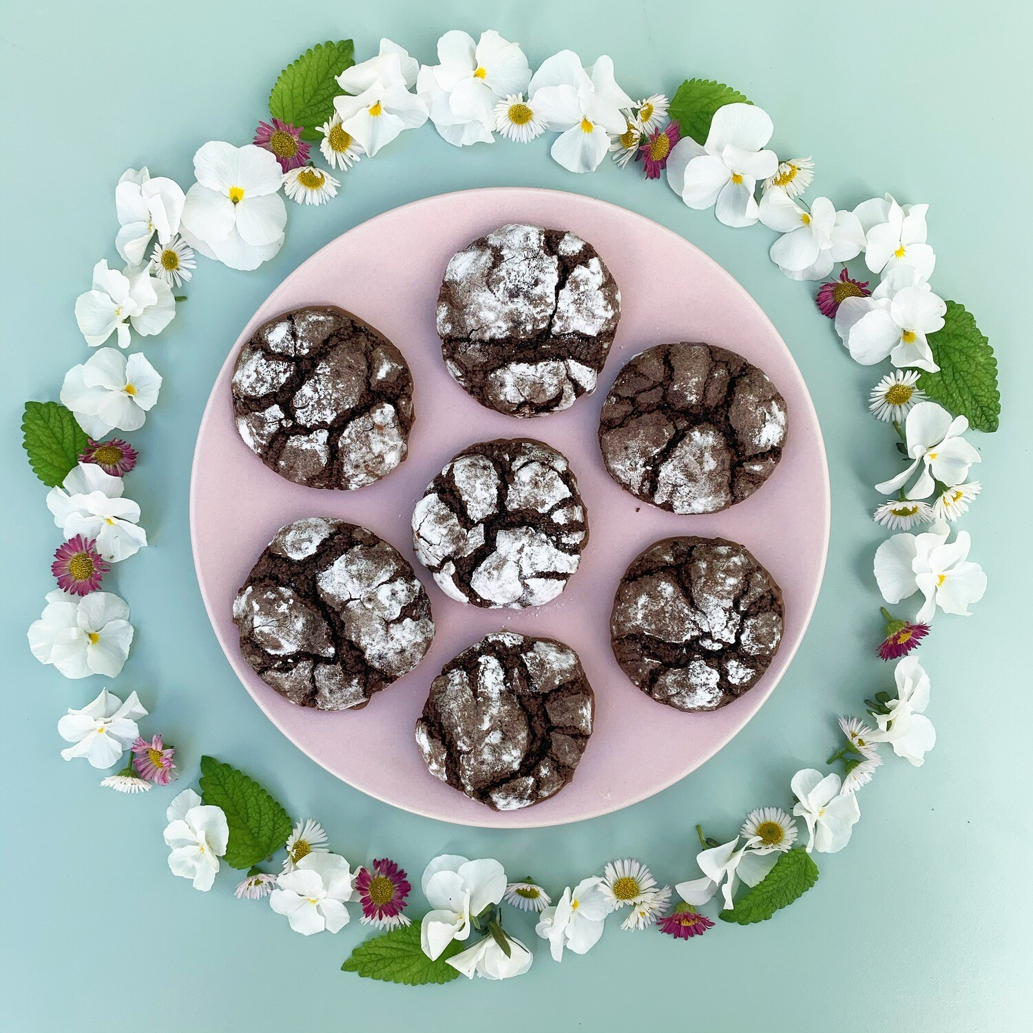 Crackled Chocolate Biscuit  Baking Kit