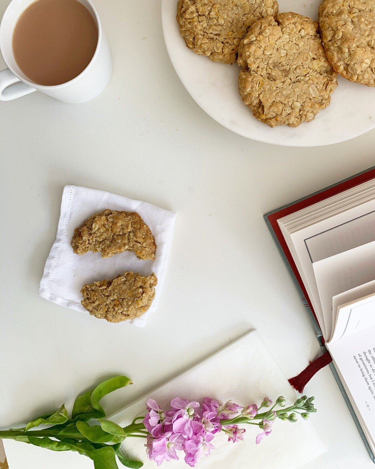 Ginger, Orange and Oat Biscuit Baking kit