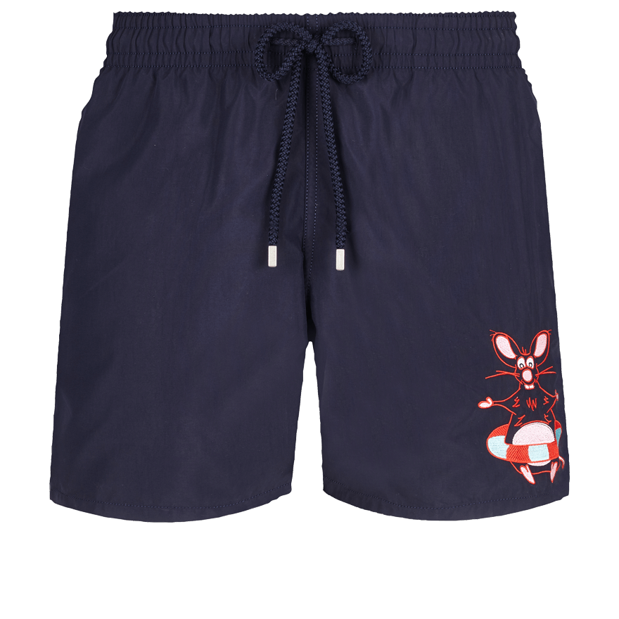 Motu Men Swimwear Placed embroidery The Year Of The Rat