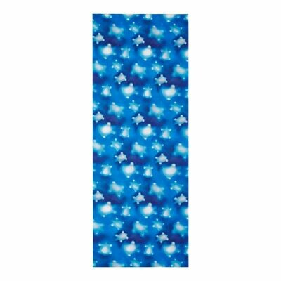 Pareo Cotton Voile Crystal Turtles In Blue