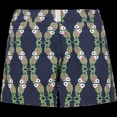 Ferise Stretch Women Swim Short Sweet Fishes