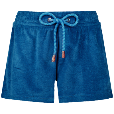 Fiona Women Terry cloth shortie Solid