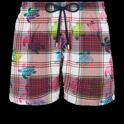 Mahina Men Swimwear Ultra-light and packable Carreaux & Turtles