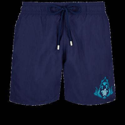 Motu  Men Swimwear Pranayama Placed embroidery