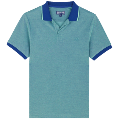 Palatin  Men Cotton Polo Shirt Solid