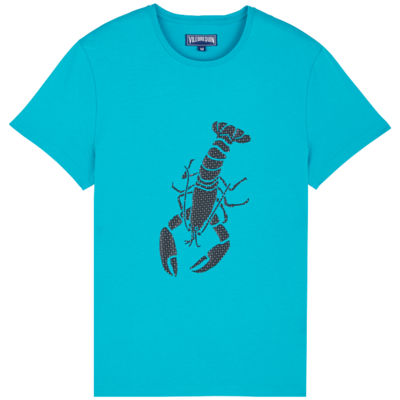 Tao Men Cotton T-Shirt Lobster 3D effect