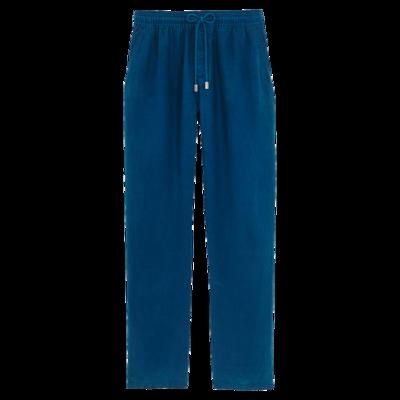 Pacha Men Linen Pants Solid