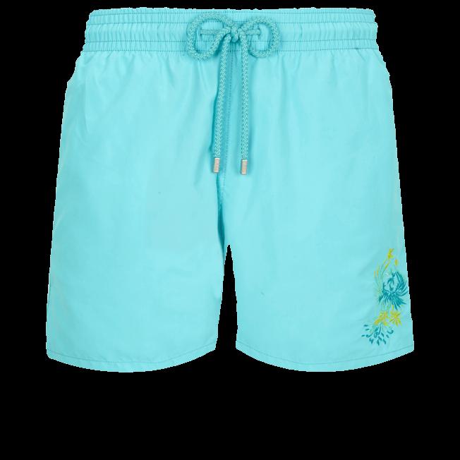 Motu Men Swimwear Placed embroidery Evening Birds