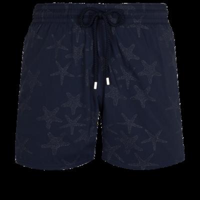 Moorise Men Stretch Swimwear Starfish Dance Diamond
