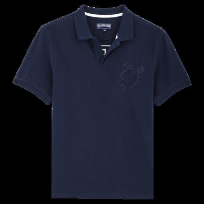 Palatin Men Cotton Pique Polo Shirt Solid